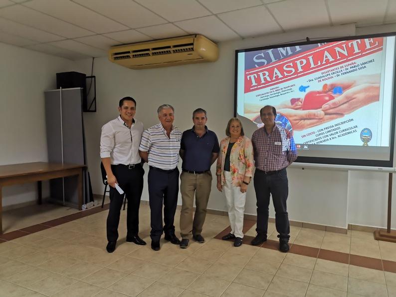 Simposio internacional trasplante bolivia